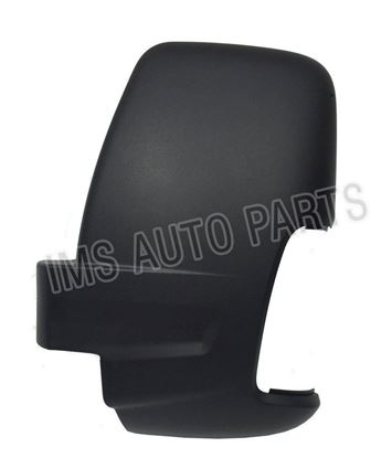Ford Transit MK8 Door Wing Mirror Black Cover Casing Left Driver Side N/S 2014 To 2017