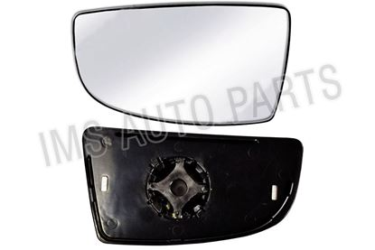 Ford Transit MK8 Wing Mirror Small Lower Glass Left Driver Side With Backing Plate 2014 To 2017