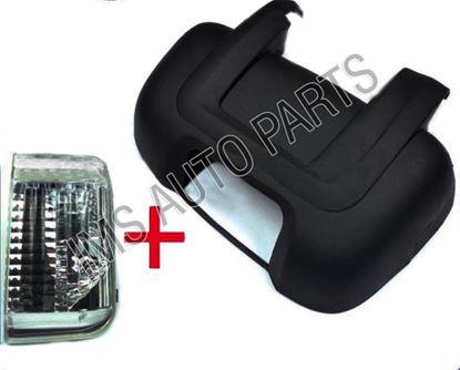 RAM PRO MASTER Door ShortArm Mirror Cover Right OS+Indicator 014-017