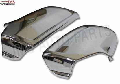 Mercedes Sprinter Door Wing Mirror Chrome Back Casing Cover Pair Left Driver And Right Passenger Side 2007 To 2016