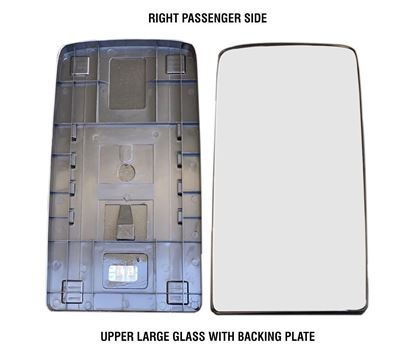 kenworth Truck T680 T880 Mirror Big Glass Heated With Back Right Passenger Side 2013 To 2018