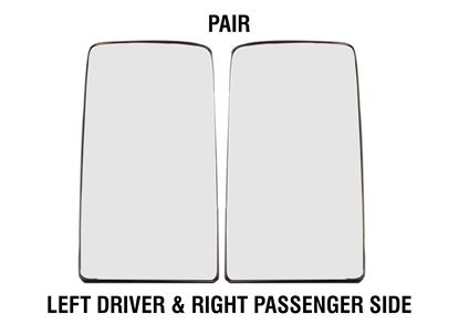 kenworth Truck T680 880 Mirror Glass Heated With Back Left Driver And Right Passenger Side Pair 2013 To 2018