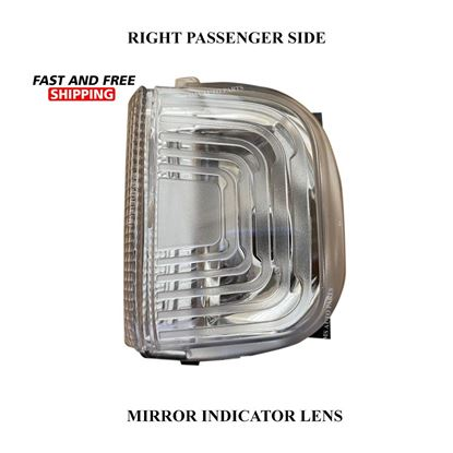 Mercedes Sprinter Mirror Indicator White Lens Clear Right Passenger Side 2019 To 2020