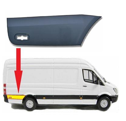 Mercedes Sprinter LWB Plastic Protective Side Moulding Strip Trim Right Passenger Side 2007 To 2016