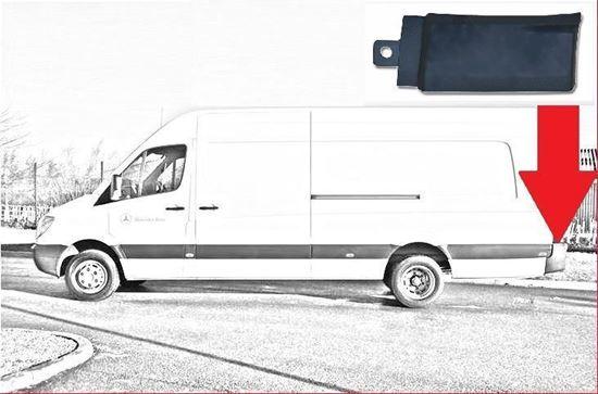 Mercedes Sprinter LWB & MWB Plastic Protective Side Moulding Strip Trim Left Driver Side 2007 To 2016
