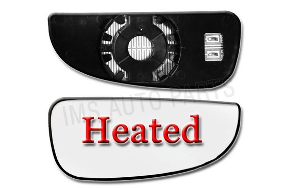 Fiat Ducato Heated Lower Bottom Blind Spot Wide Wing Mirror Small Glass Right Passenger Side O/S 2006 To 2013