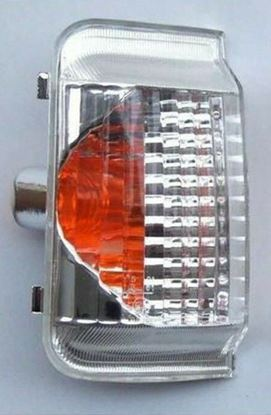 Fiat  Ducato Citroen Relay Jumper Wing Mirror Orange Indicator Lens Left Driver Side NS 2006 To 2013