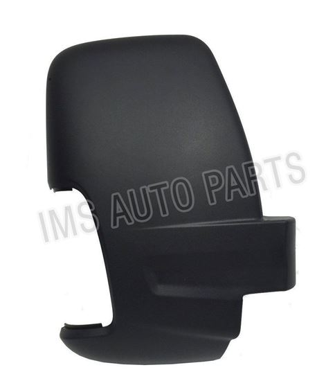 Ford Transit MK8 Door Wing Mirror Black Cover Casing Right Passenger Side O/S 2014 To 2017