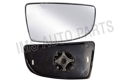 Ford Transit MK8 Wing Mirror Small Lower Glass Right Passenger Side With Backing Plate 2014 To 2017