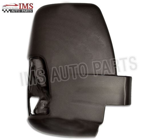 Ford Transit MK8 Door Wing Mirror Black Cover + Inner Frame Right Passenger Side O/S 2014 To 2017