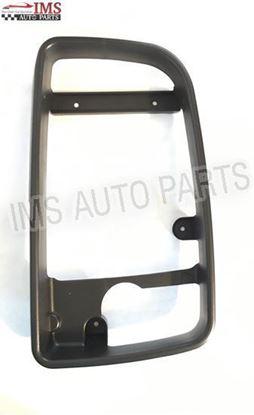 Mercedes Sprinter Door Wing Mirror Black Casing Cover Inner Bezel Frame Right Passenger Side OS 2007 To 2016