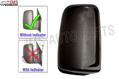 Mercedes Sprinter Door Wing Mirror Casing Cover Black Right Passenger Side 2007 To 2016