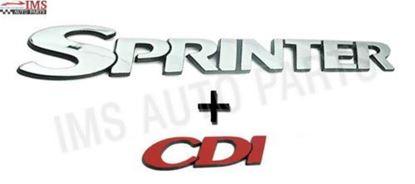Mercedes Sprinter Self Adhesive Badge Sprinter CDI Badge Emblem