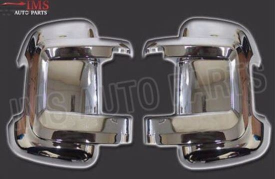 Fiat Ducato Door Mirror Short Arm Chrome Cover Casing Left Driver And Right Passenger Side 2006 To 2013