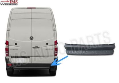 Mercedes Sprinter Rear Bumper Step Metal Bracket+Plastic Cover 2006 Onwards