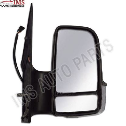 Dodge Mercedes Sprinter W906 Door Wing Mirror Manual Short Arm Right Passenger Side 2007 To 2016