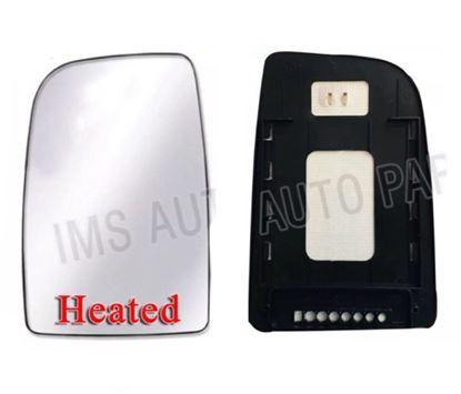 Mercedes Sprinter Mirror Upper Large Glass Heated Slide On Sliding Type Left Driver Side NS 2007 To 2016