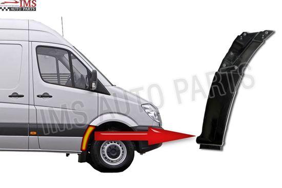 Mercedes Sprinter Lower Front Wing Fender Bracket Right Passenger Side 2007 To 2014