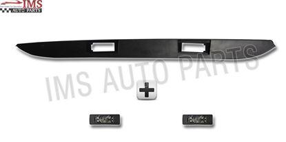 Dodge Mercedes Sprinter Back Door Number Plate Strip Plus 2 Light Lamp 2007 To 2016
