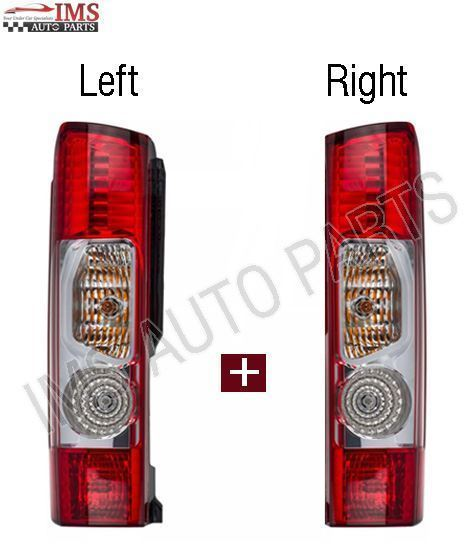 Fiat Ducato Tail Light Lamp Lens Left Driver And Right Passenger Side 2006 To 2013