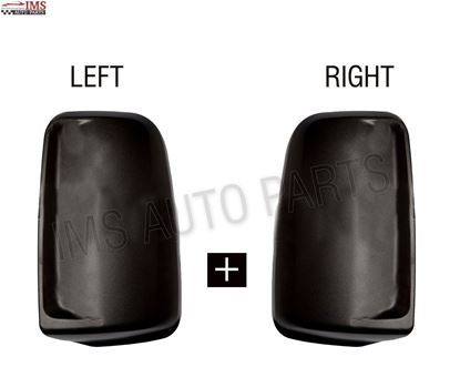 MERCEDES SPRINTER MIRROR CASING COVER WITHOUT INDICATOR HOLE LEFT DRIVER AND RIGHT PASSENGER PAIR 2007 TO 2016