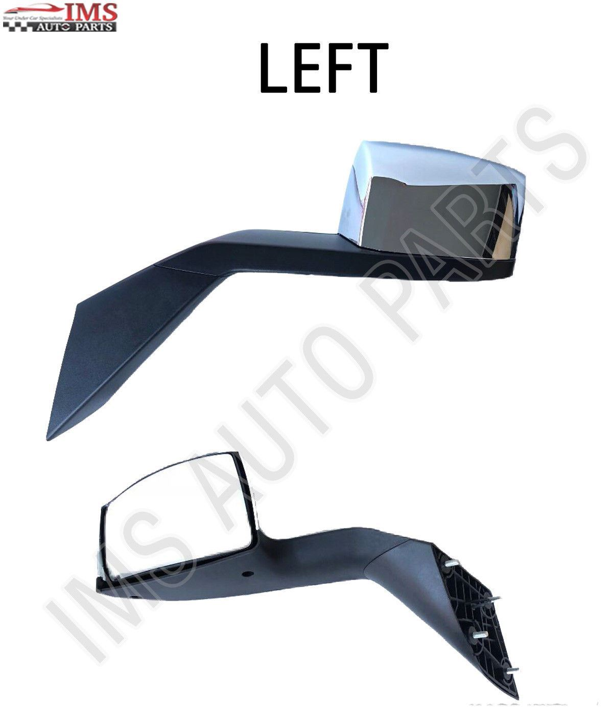 VOLVO TRUCK VN VNL 630 670 730 780 Side Hood Mirror Pair Left and Right