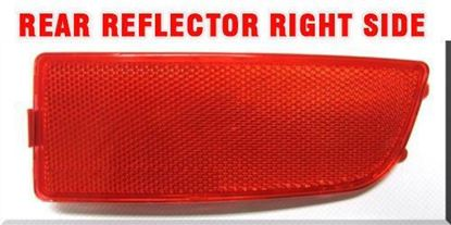 Mercedes Sprinter Tail Bumper Red Reflector W906 Right Passenger Side 2007 To 2016