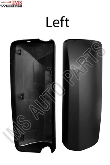 VOLVO VNL VN300 430 630 670 730 780 MIRROR COVER WITH CB HOLE LEFT DRIVER SIDE 2004 TO 2016