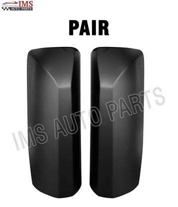 VOLVO VNL VN 300 430 630 670 730 780 MIRROR COVER WITH CB HOLE LEFT DRIVER & RIGHT PASSENGER SIDE SET 2004 TO 2016