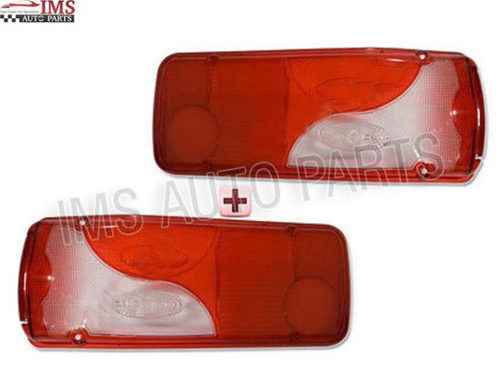 DODGE MERCEDES SPRINTER CHASSIS CAB BACK LIGHT LAMP LENS RIGHT PASSENGER & LEFT DRIVER SIDE SET 2007 TO 2016