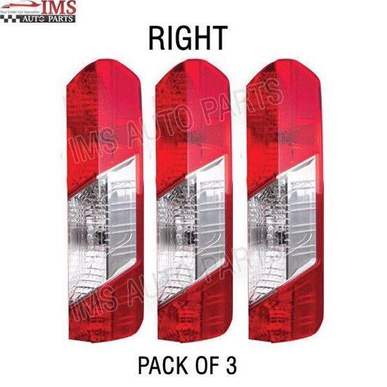 NEW FORD TRANSIT 150 250 350 TAIL LIGHT LAMP LENS RH PASSENGER SET OF 3 2016 TO 2018