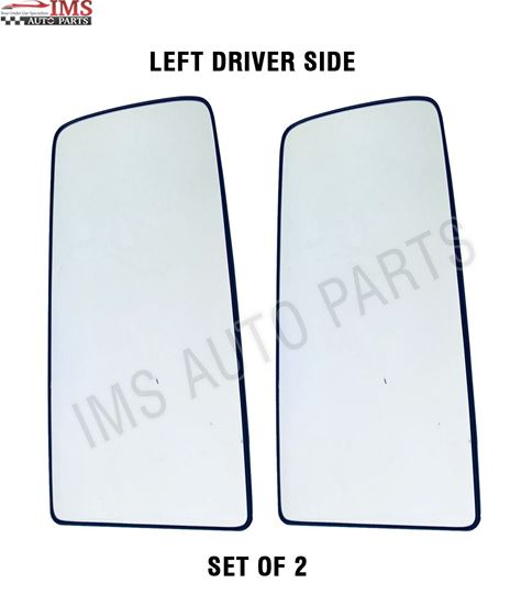 VOLVO VNL VNR MIRROR UPPER GLASS WITH BACK 300 400 640 740 760 860 HEATED LEFT DRIVER SIDE 2016 TO 2018