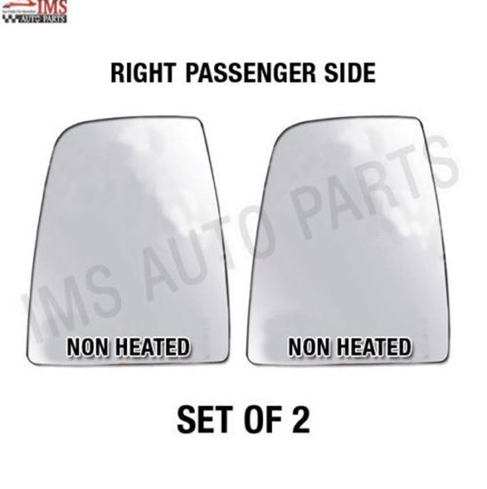 NEW FORD TRANSIT CARGO VAN GLASS NONE HEATED WITH BACK RIGHT PASSENGER SIDE SET OF 2 2014 TO 2017