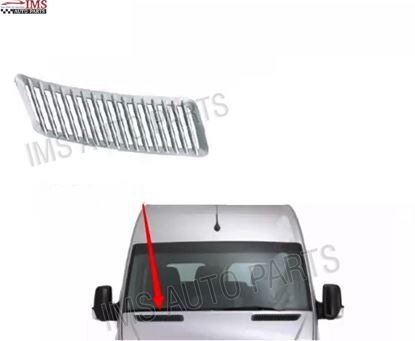 MERCEDES DODGE SPRINTER HOOD VENT GRILLE CHROME ADHESIVE RIGHT PASSENGER SIDE 2007 TO 2017