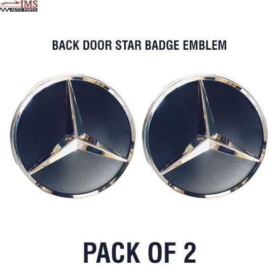 MERCEDES BENZ SPRINTER 250 350 BACK DOOR STAR BADGE EMBLEM ADHESIVE 2006 TO 2017