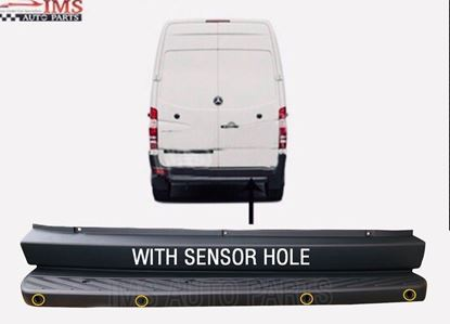 MERCEDES BENZ SPRINTER METAL FOOT STEP PLASTIC COVER WITH SENSOR HOLE 2007 TO 2016