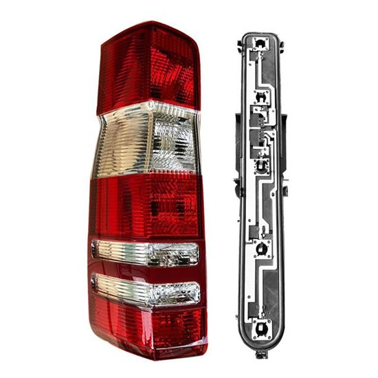 Mercedes Sprinter Tail Light With Circuit Board Socket LH DRIVER 2007 2017