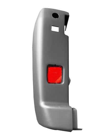New Ram ProMaster Rear Bumper Corner Gray With Red Reflector Left Driver 2014 2018