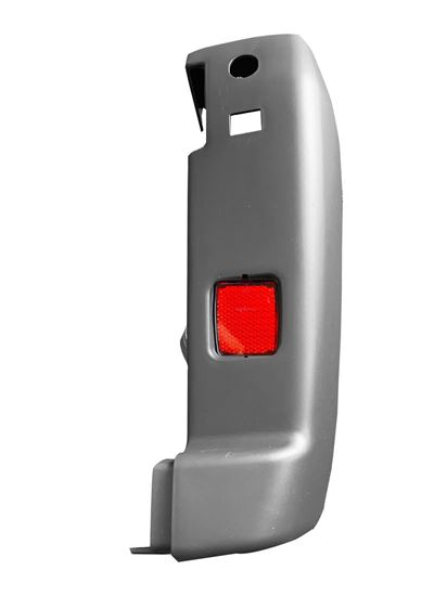 New Ram Pro Master Bumper Corner Gray With Red Reflector Right Passenger 2014 To 2018