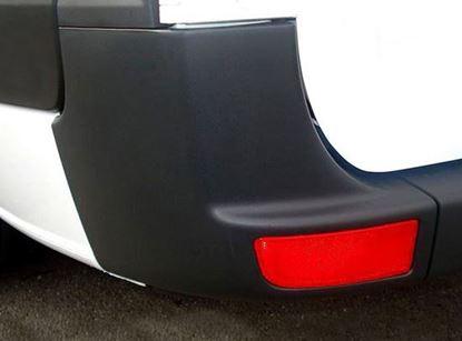 Mercedes Sprinter W906 Rear Bumper Corner Panel Left Driver Side + Free Reflector 2007 To 2017