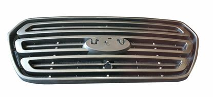 Ford Transit 150 250 350 Front Grill Gray Bumper Upper With Camera Hole 2014 To 2017