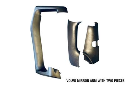 Volvo Vnl Vn Truck Mirror Arm Cover Assembly With Two Pieces Right Passenger 2014 To 2018