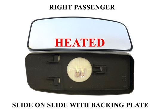 Mercedes Sprinter Side Mirror Small Glass Slide On Heated Right Passenger 2007 To 2017