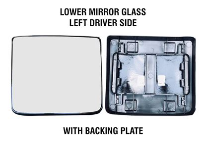 kenworth Truck T680 T880 Mirror Small Glass Heated With Back Left Driver Side 2013 To 2018