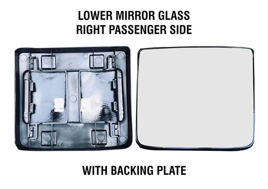 kenworth Truck T680 T880 Mirror Small Glass Heated With Back Right Passenger 2013 To 2018