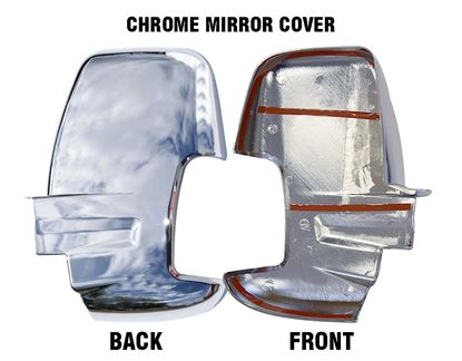 New Ford Transit 150 250 350 Chrome Mirror Cover Adhesive Left Driver Side 2014 To 2018