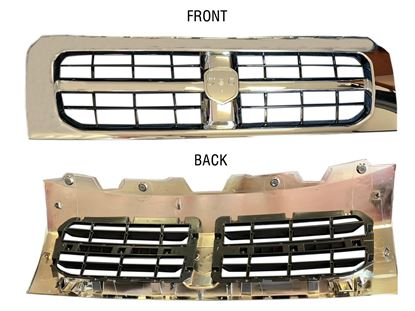 Ram Promaster Front Chrome Grille Radiator Assembly 1500 2500 3500 2014 To 2018