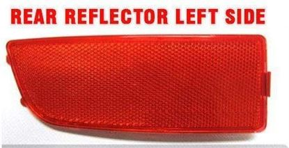 Dodge Sprinter 250 350 Bumper Red Reflector Left Driver Side 2007 To 2016