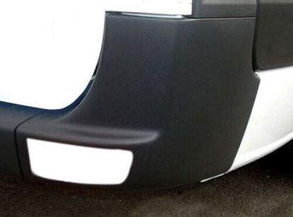 Mercedes Sprinter 250 350 Rear Bumper Corner Panel Black Right Passenger 2007 To 2017