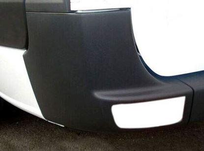 Mercedes Sprinter 250 350 Rear Bumper Corner Panel Black Left Driver 2007 To 2017